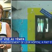 L'indignation de Médecins sans frontières après le bombardement de son hôpital au Yémen