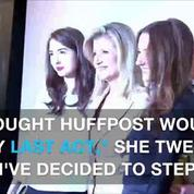 Arianna Huffington announces she's leaving Huffington Post