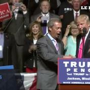 L'artisan du Brexit, Nigel Farage, invité d'honneur d'un meeting de Trump
