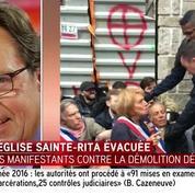 Évacuation de l'église Sainte-Rita : Lefebvre se dit «indigné»