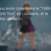 Taylor Swift donne 1 million de dollars aux victimes des inondations en Louisiane