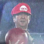 JO : Le Premier ministre japonais fait une entrée remarquée