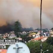 Portugal : au moins 3 morts dans l'incendie qui ravage l'île de Madère