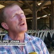 Les producteurs de lait en colère contre Lactalis