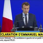 Macron: «Je souhaite entamer une nouvelle étape de mon combat» et «construire un projet»