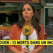 Rouen: un incendie dans un bar fait au moins 13 morts et plusieurs blessés