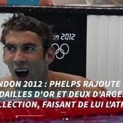 Les meilleurs moments de Michael Phelps aux Jeux