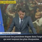 Séisme en Italie: Matteo Renzi fait le point sur la situation