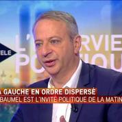 Primaire PS - Montebourg est celui qui a le plus de visibilité, selon son soutien Laurent Baumel