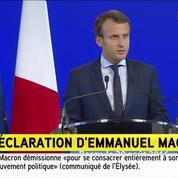 Macron: «J'ai consacré toute mon énergie à mener les combats que l'on m'a autorisé à livrer»