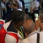 Rio 2016 : les sportifs de retour en France
