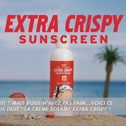 KFC sort une crème solaire à l'odeur «poulet frit»