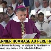Obsèques du père Hamel: l'archevêque de Rouen appelle à «communier davantage»