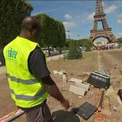 Paris: 500.000 euros de travaux pour remettre en état le Champ de Mars après l'Euro