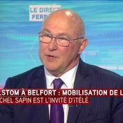 Alstom : Michel Sapin ne garantit pas une sauvegarde du site de Belfort