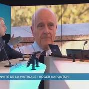 Karoutchi : «Hervé Mariton a été hué hier au meeting d'Alain Juppé»