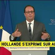 Alstom : F. Hollande appelle à la mobilisation