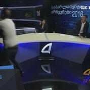 Géorgie: deux candidats aux législatives se bagarrent sur un plateau télé