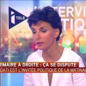 Rachida Dati :Par conviction, évidemment je soutiens Nicolas Sarkozy