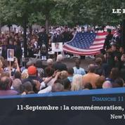 11-Septembre 2001: minute de silence à Ground Zero