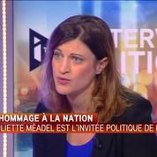 Juliette Méadel: Une médaille pour les victimes du terrorisme, c'est du baume au coeur