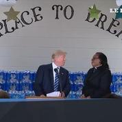 Un pasteur de Flint rembarre Donald Trump en plein discours