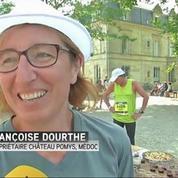 Dans le Médoc, un marathon bien arrosé