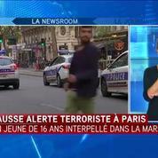 Fausse alerte attentat à Paris: Un lycéen de 16 ans interpellé