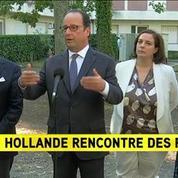 François Hollande : Notre volonté est de démanteler Calais entièrement