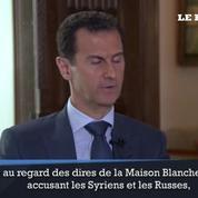 Bachar El Assad : «peu importe ce que les Américains ont à dire sur la Syrie, ce sont des mensonges»
