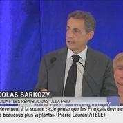 Dans l'Oise, Nicolas Sarkozy répond à Patrick Buisson