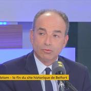 Fermeture d'Alstom: le résultat d'une politique économique désastreuse, selon Jean-François Copé