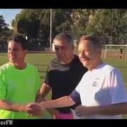 Foot : Valls porte le maillot pour les blessés de guerre