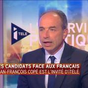 Le candidat à la primaire de droite Jean-François Copé face aux Français