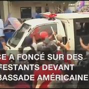 Violente répression aux Philippines en marge d'une manifestation devant l'ambassade américaine