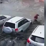 Les images terribles de l'ouragan Matthew dans les Caraïbes