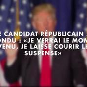 Trump refuse de s'engager à accepter le résultat de l'élection