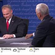 États-Unis: débat des colistiers de Trump et Clinton