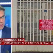 EDF : 23 réacteurs nucléaires actuellement à l'arrêt à l'approche de l'hiver