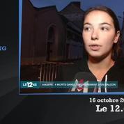 Angers : les riverains sous le choc après l'effondrement d'un balcon qui a fait 4 morts