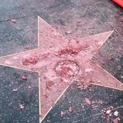L'étoile de Donald Trump a été vandalisée sur Hollywood Boulevard