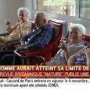 La longévité humaine atteint ses limites