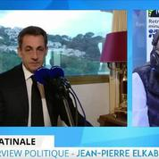 Nicolas Sarkozy charge François Bayrou
