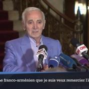 Charles Aznavour reçoit une étoile d'honneur à Hollywood