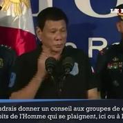 Le président philippin prêt à renoncer aux aides européennes et américaines