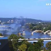Un vieux pont quasi-centenaire fait de la résistance
