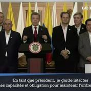 Le président colombien reconnaît le rejet de l'accord de paix avec les Farc