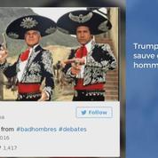 Trump veut mettre dehors les «bad hombres», Twitter s'enflamme
