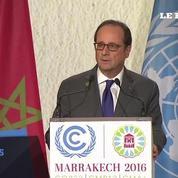 Hollande à la COP 22 : «Les États-Unis doivent respecter les engagements qui ont été pris»