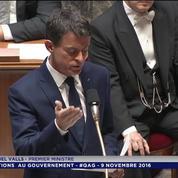 Manuel Valls sur l'élection de Donald Trump : « Je ne crois pas au triomphe de la peur mais au triomphe de la lucidité »